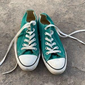 Converse men's size 5 green